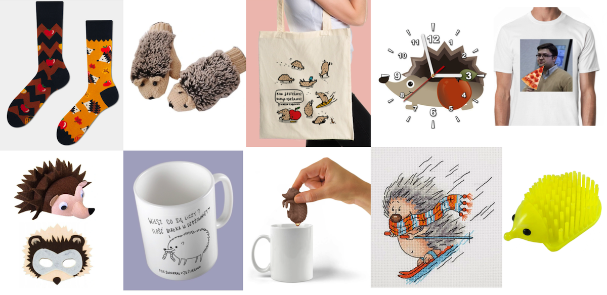 Hedgehog concept was an inspiration for the gift for our CEO